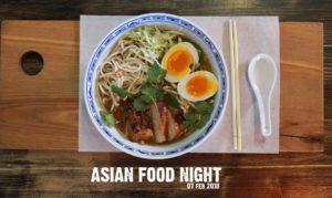 Asian Food Night